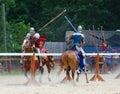 Tilting Knights 2 Royalty Free Stock Photo