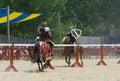 Tilting Knights 4 Royalty Free Stock Photo