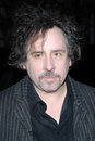 Tim burton at a special screening of sweeney todd the demon barber of fleet street paramount theatre hollywood ca Royalty Free Stock Photo