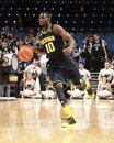 Tim hardaway jr michigan s dribbles Stock Photo