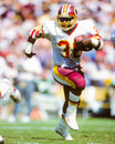 Tim smith washington redskins former rb image taken from color slide Stock Photo