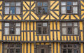 Timber-framed house Royalty Free Stock Photo