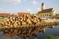 Timber logs Royalty Free Stock Photo