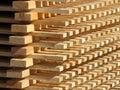 Timber supply Royalty Free Stock Photo