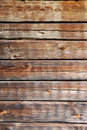 Timber wall of old wooden house Stock Images