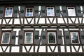 Timbered House from Germany Stock Photo