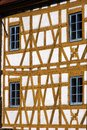 Timbered house in the old town of the world heritage city bamberg germany bavaria franconia Stock Photos