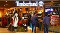 Timberland retail store hong kong Royalty Free Stock Photo