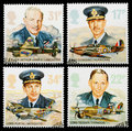 Timbres-poste de Royal Air Force Images stock