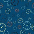 Time abstract vector background illustration pattern seamless Royalty Free Stock Photography