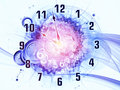 Time abstraction Stock Photo