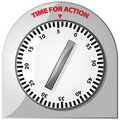 Time for action Royalty Free Stock Photo