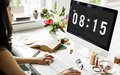 Time appointment schedule punctual graphic concept Royalty Free Stock Photography