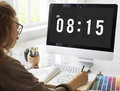 Time Appointment Schedule Punctual Graphic Concept Royalty Free Stock Photo