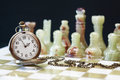 Time For Chess Game Royalty Free Stock Photo
