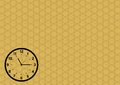 Time and clock icon set,  eps10 Royalty Free Stock Photo