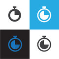 Time and Clock Icon Vector Illustration