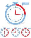 Time concept icon break or frame Royalty Free Stock Image