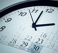 Time, deadline, end of month business concept Stock Photos