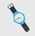 Time design over gray background illustration Royalty Free Stock Photos