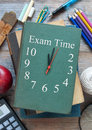 Time for exams Royalty Free Stock Photo
