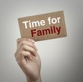 Time for family Royalty Free Stock Photo