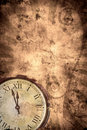 Time grunge background Royalty Free Stock Photos