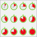 Time Indicators Royalty Free Stock Photos