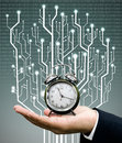 Time machine concept Royalty Free Stock Photo