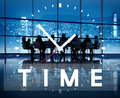 Time management punctual duration schedule concept Royalty Free Stock Photo
