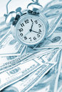 Time - money. Business concept. Stock Photo