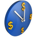 Time is money concept Stock Image
