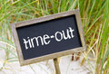 Time out sign Royalty Free Stock Photo