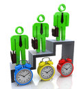 Time professional growth development for the design of information related to the business and the people Stock Photos