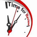Time for review Royalty Free Stock Photo