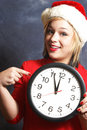 Time is running out hurry to beat the christmas holidays Royalty Free Stock Photography