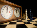 Time's up! Royalty Free Stock Photo