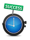 Time for success illustration design Royalty Free Stock Image