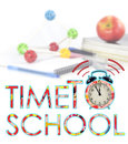 Time to back to school Royalty Free Stock Photo