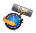 time to Get More Leads sign Royalty Free Stock Photo