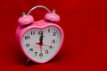 Time to Love - valentine alarm clock Stock Photography