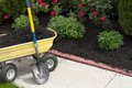 Time to Mulch Royalty Free Stock Photo