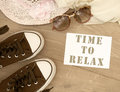 Time to relax Royalty Free Stock Photo
