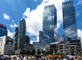 Time Warner Center Stock Image