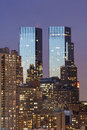 Time Warner Center Royalty Free Stock Photo