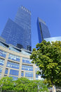 Time Warner Center in NYC Royalty Free Stock Photo