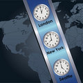 Time zone Royalty Free Stock Photos