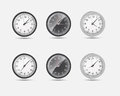 Time zone world vector illustration this is file of eps format Royalty Free Stock Photos