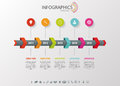 Timeline Infographic, Vector D...