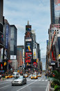 Times Square, de Stad van Manhattan, New York Stock Fotografie